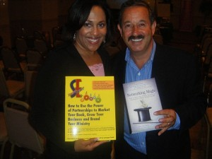 Pam Perry and Rick Frishman, book PR mentor
